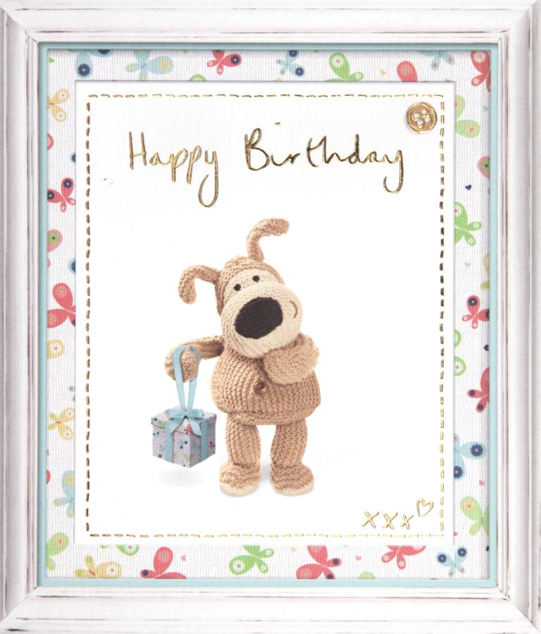 Boofle Gift Birthday Card