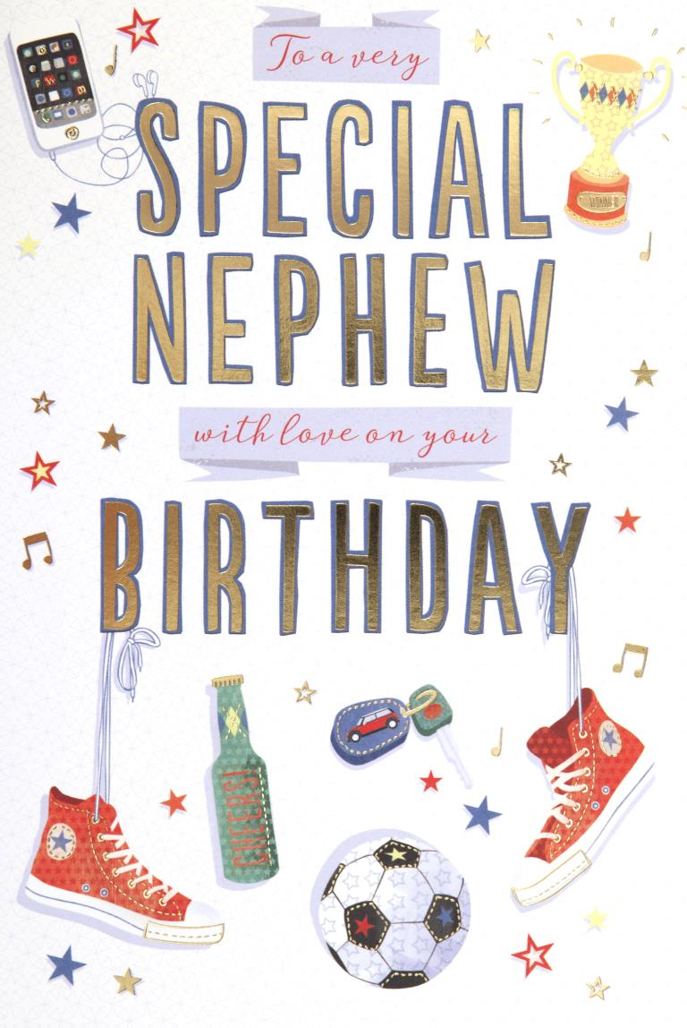 Special Nephew Birthday Card