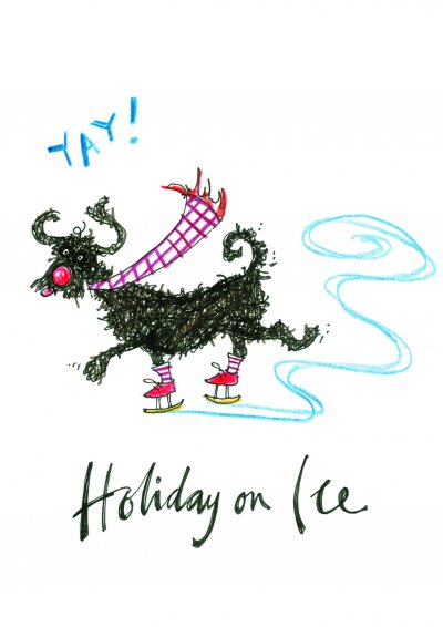 Holiday on Ice Christmas Card