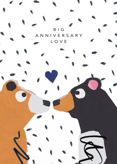 Big Love Anniversary Card