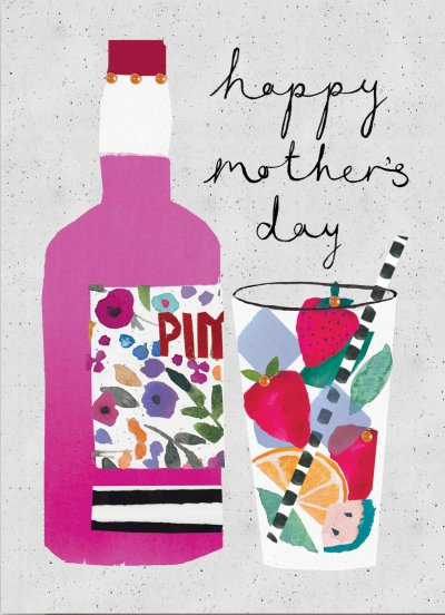 Cocktail Mother's Day Card