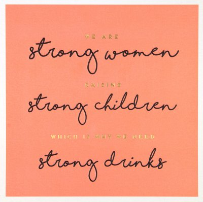 Strong Women Birthday Card